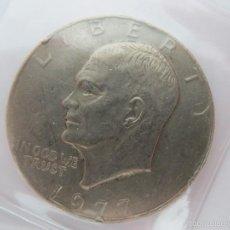 Monedas antiguas de América: MONEDA LIBERTY 1977 1 DOLLAR EISENHOWER ONE DOLLAR 1 DOLAR. Lote 58324985