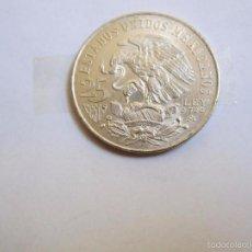 Monedas antiguas de América: MONEDA DE PLATA 25 PESOS MEXICO 1968 PLATA LEY 0,720. Lote 61126123