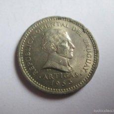 Monedas antiguas de América: 1953 URUGUAY 5 CENTESIMOS, MONEDA MONNAIE COIN. Lote 61167519