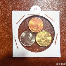 Monedas antiguas de América: AMERICA 3 MONEDAS DIFERENTES SC. Lote 61916124