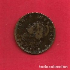Monedas antiguas de América: MONEDA BRONCE 2 CENTAVOS ARGENTINA 1893. KM33. BC #DM. Lote 62280392