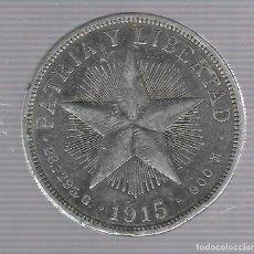 Monedas antiguas de América: MONEDA. REPUBLICA DE CUBA. 1 PESO. 1915. VER. Lote 62325904