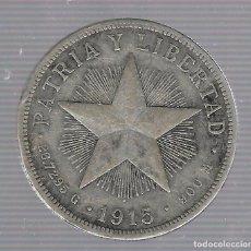 Monedas antiguas de América: MONEDA. REPUBLICA DE CUBA. 1 PESO. 1915. VER. Lote 62325996