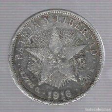 Monedas antiguas de América: MONEDA. REPUBLICA DE CUBA. 1 PESO. 1916. VER. Lote 62326500