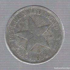Monedas antiguas de América: MONEDA. REPUBLICA DE CUBA. 1 PESO. 1934. VER. Lote 62329580