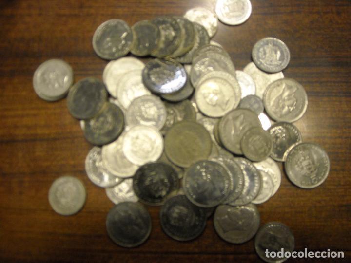 LOTE DE 68 MONEDAS DE VENEZUELA. VER DESCRIPCION (Numismática - Extranjeras - América)