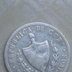 Monedas antiguas de América: REPÚBLICA DE CUBA. 20 CENTAVOS DE PLATA DE 1915.. Lote 62641536