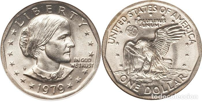 One Dollar Usa 1979 Susan B Anthony Ceca D Comprar Monedas