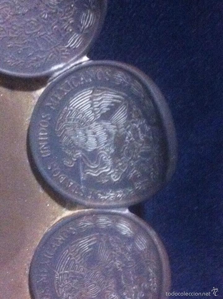 Monedas antiguas de América: Raro cenicero hecho con monedas (MÉXICO) - Foto 2 - 63432219