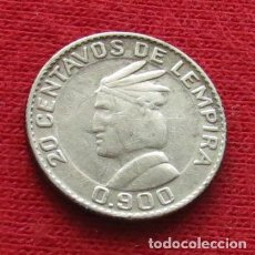 Monedas antiguas de América: HONDURAS 20 CENTAVOS 1951. Lote 63672159