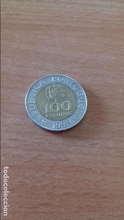 Moneda De 100 Escudos De Portugal Año 1991 Comprar Monedas