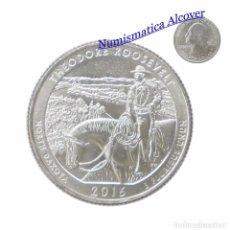 Monedas antiguas de América: ESTADOS UNIDOS AMERICA (EEUU) 1/4 CUARTO DÓLAR 2016 D NORTH DAKOTA - THEODORE ROOSEVELT SC. Lote 67269577