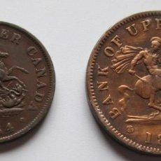 Monedas antiguas de América: CANADA - MONTRAL / UPPER CANADA. Lote 67814045