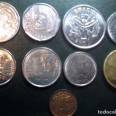 Monedas antiguas de América: LOTE 9 DE BRASIL. LA MAYORÍA SIN CIRCULAR. Lote 68301889
