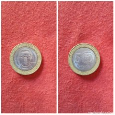 Monedas antiguas de América: REPÚBLICA DOMINICANA 5 PESOS 2002. Lote 68460650
