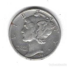 Monedas antiguas de América: MONEDA. EEUU. ONE DIME. 1945. Lote 68817489