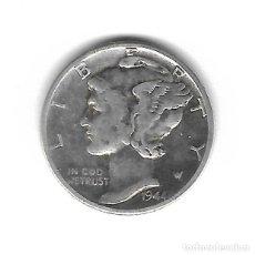Monedas antiguas de América: MONEDA. EEUU. ONE DIME. 1944. PLATA. Lote 69038705