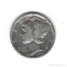 Monedas antiguas de América: MONEDA. EEUU. ONE DIME. 1944. PLATA. Lote 69038749