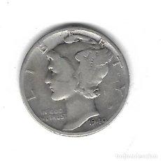 Monedas antiguas de América: MONEDA. EEUU. ONE DIME. 1940. PLATA. Lote 69038777