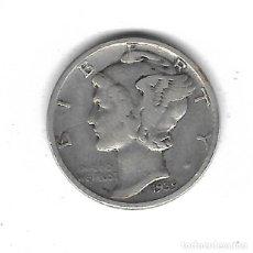 Monedas antiguas de América: MONEDA. EEUU. ONE DIME. 1939. PLATA. Lote 69038893