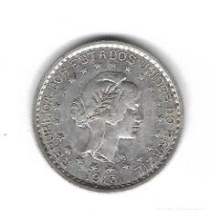 Monedas antiguas de América: MONEDA. BRASIL. 500 REIS. 1913. PLATA.. Lote 69041873