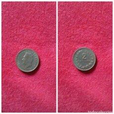 Monedas antiguas de América: MONEDA DE EL SALVADOR 2 CENTAVOS 1974. Lote 69082858
