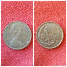 Monedas antiguas de América: MONEDA DE CANADÁ 1 CENT 1976. Lote 69999274