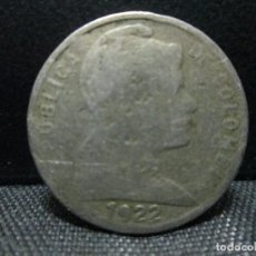 Monedas antiguas de América: V CENTAVOS 1922 REPUBLICA DE COLOMBIA MUY RARA. Lote 71373003