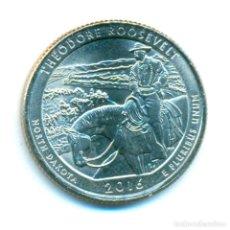 Monedas antiguas de América: ESTADOS UNIDOS AMERICA USA 1/4 DÓLAR 2016 (SC) - THEODORE ROOSEVELT NATIONAL PARK - CECA P. Lote 71820371