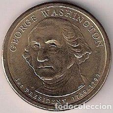 Monedas antiguas de América: USA - 1 DÓLAR 2007 - GEORGE WASHINGTON - SIN CIRCULAR. Lote 73648119