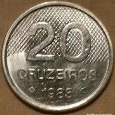 Monedas antiguas de América: MONEDA-20-CRUZEIROS-BRASIL-1985 . Lote 75950367