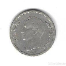 Monedas antiguas de América: MONEDA. VENEZUELA. 25 CENTIMOS, 1945. Lote 76055315