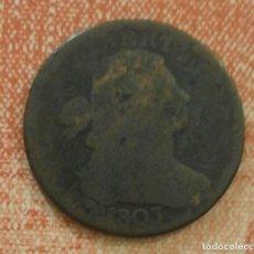 Monedas antiguas de América: ESTADOS UNIDOS ONE CENT 1803. Lote 149819924