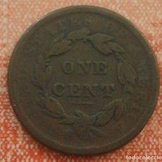 Monedas antiguas de América: ESTADOS UNIDOS ONE CENT LIBERTY 1838. Lote 76178223