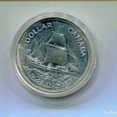Monedas antiguas de América: MONEDA-CANADA-ELIZABETH 1 DOLLAR PLATA-1979. Lote 77641285