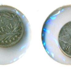 Monedas antiguas de América: GUATEMALA - CUARTO 1/4 DE REAL 1898 ( EBC+ ) PLATA. Lote 78377389