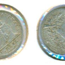 Monedas antiguas de América: GUATEMALA - MEDIO 1/2 REAL 1894 ( MBC ) PLATA. Lote 78377485
