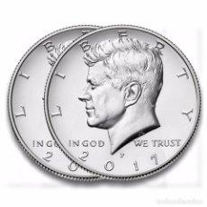 Monedas antiguas de América: USA 2017 1/2 DOLAR KENNEDY D. Lote 143921426