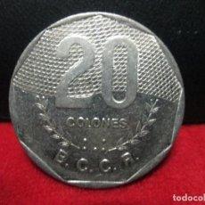 Monedas antiguas de América: 20 COLONES 1994 COSTA RICA . Lote 80741342