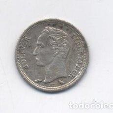 Monedas antiguas de América: VENEZUELA-25 CENTIMOS-1960-PLATA. Lote 82352944