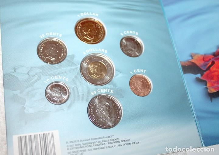 Monedas antiguas de América: CANADÁ MONEDAS DIVISIONARIAS 2007 CON EDICIÓN ESPECIAL DE 25 CENTS - Foto 4 - 83072184