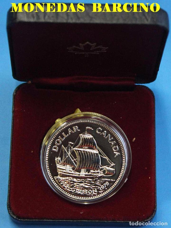 1979 1 Dollar Canada Plata 1979 Griffon Ba Comprar Monedas