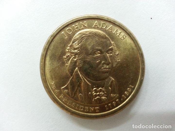 Monedas antiguas de América: Moneda 1 Dolar - John Adams - 2007 Serie P Excelente estado - Foto 5 - 85534036