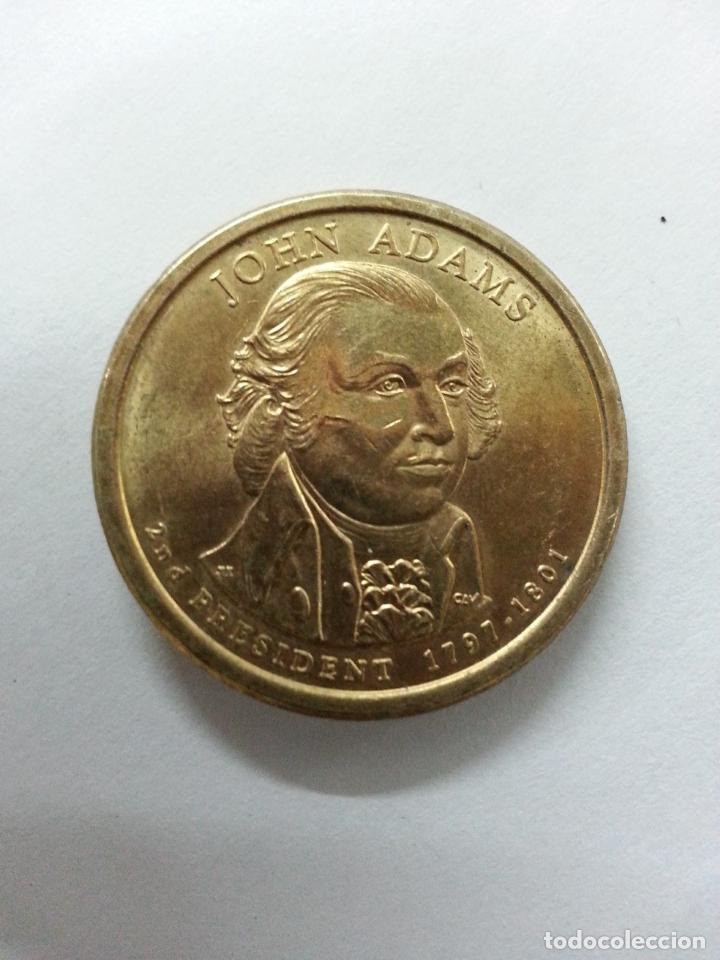 Monedas antiguas de América: Moneda 1 Dolar - John Adams - 2007 Serie P Excelente estado - Foto 6 - 85534036
