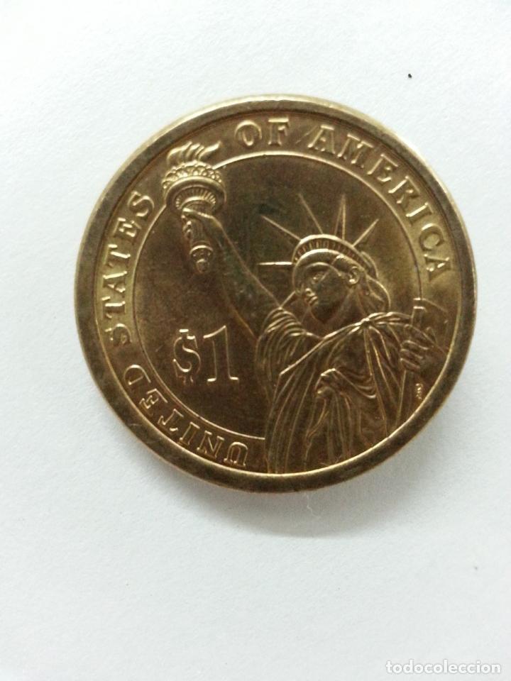 Monedas antiguas de América: Moneda 1 Dolar - John Adams - 2007 Serie P Excelente estado - Foto 7 - 85534036