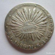 Monedas antiguas de América: MEXICO * 8 REALES 1886 MR - POTOSI * PLATA. Lote 86733068