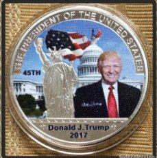 Monedas antiguas de América: MONEDA. EE. UU., DONALD TRUMP MONEDA CONMEMORATIVA SP PRESIDENTE DE LOS ESTADOS UNIDOS. . Lote 88393716