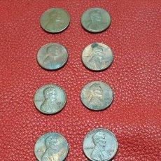 Monedas antiguas de América: MONEDAS ANTIGUAS DE 1 CENTAVO Y 5 CENTAVOS EEUU. Lote 89098503