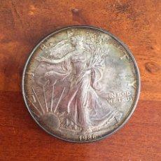 Monedas antiguas de América: UNITED STATES OF AMERICA. 1OZ. SILVER DOLLAR 1986. Lote 90086628