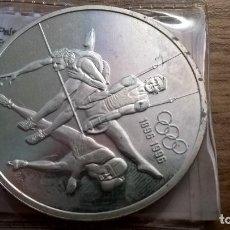Monedas antiguas de América: CANADA. 15 DOLLARS DE PLATA DE 1992. JUEGOS OLÍMPICOS. Lote 91750600